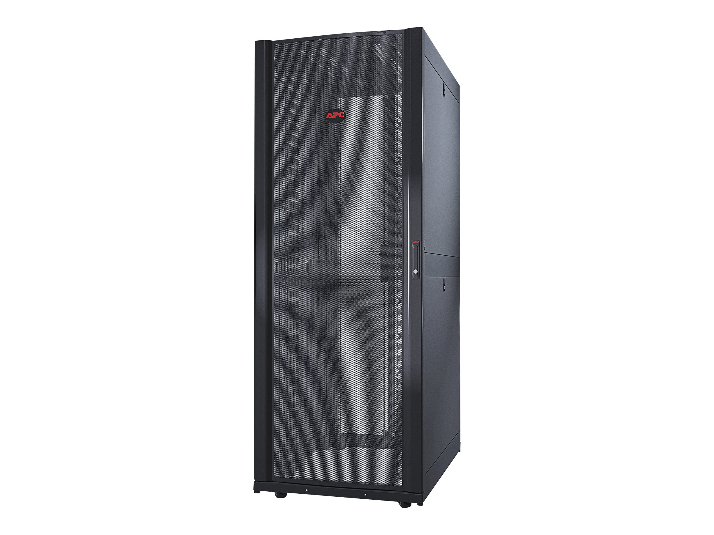 APC NetShelter SX 42U 750mm Wide x 1070mm Deep Networking Enclosure with Sides, AR3140, 10883556, Racks & Cabinets