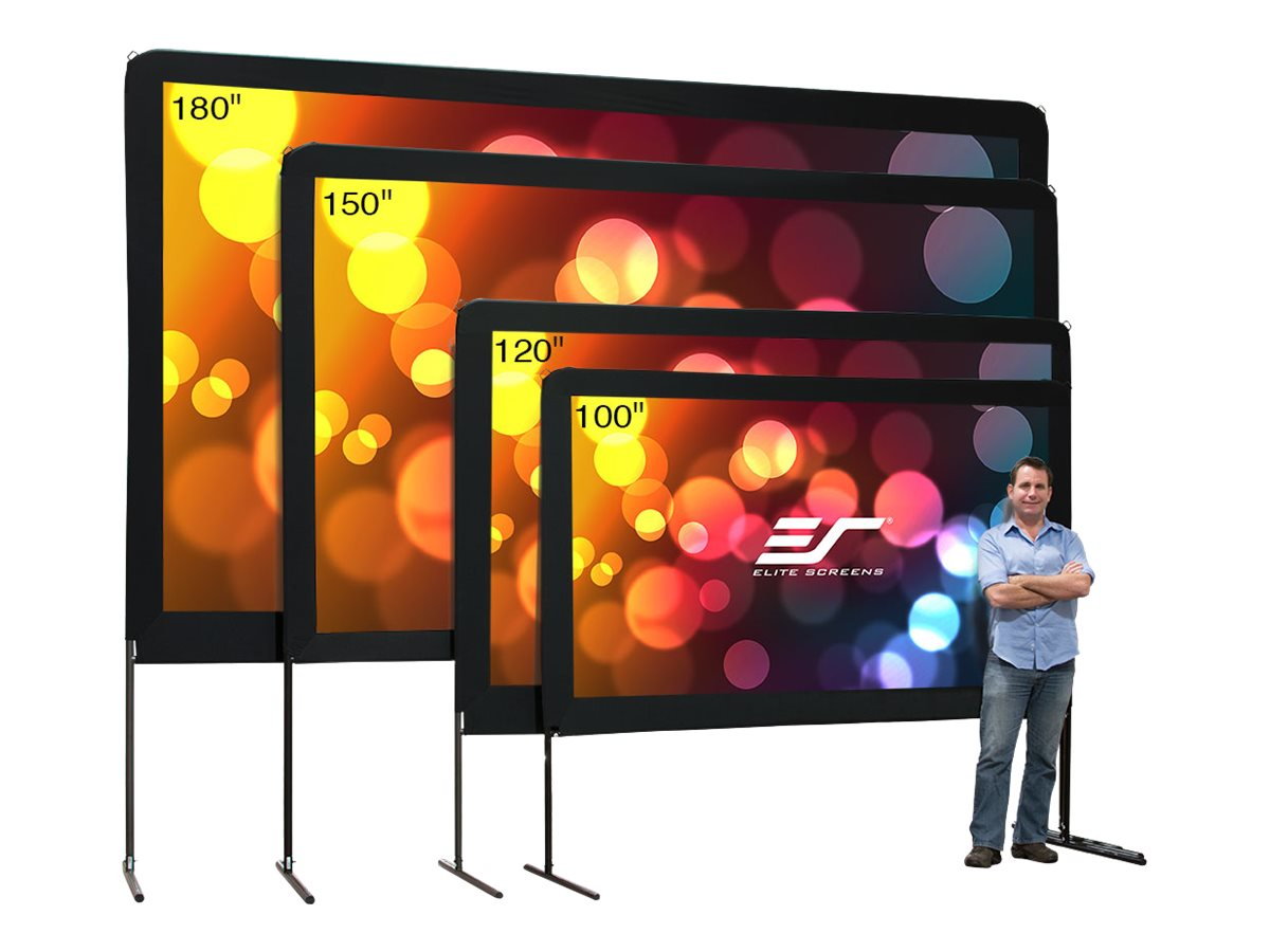 Elite Yard Master Portable Projection Screen, DynaWhite, 16:9, 120, OMS120H, 14242326, Projector Screens