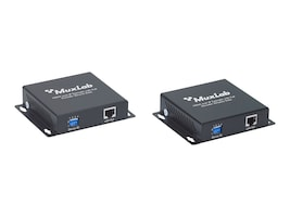 MuxLab HDMI Over IP Extender kit with PoE, 500752, 17699760, Video Extenders & Splitters