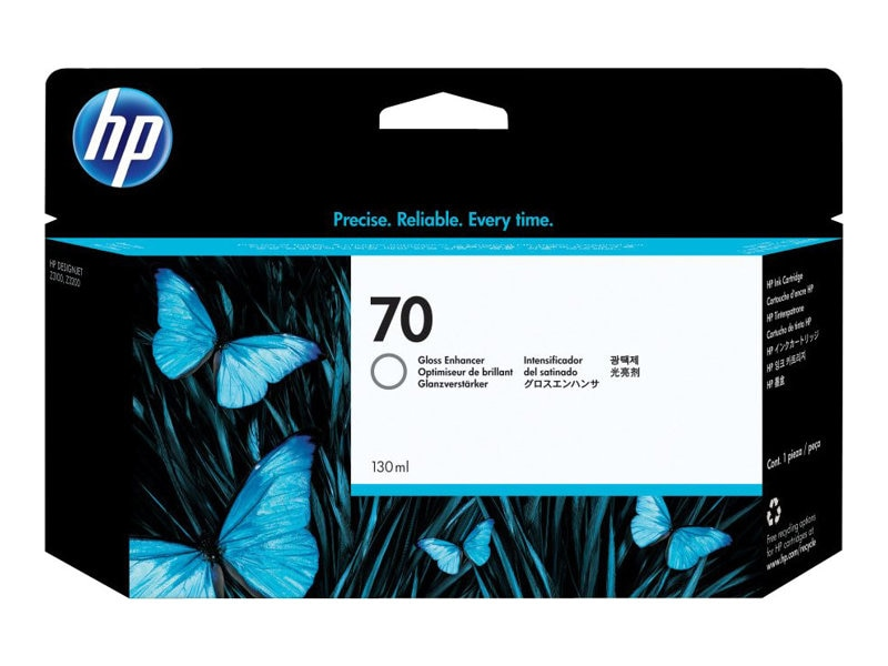 HP 70 Gloss Enhancer for HP DesignJet Printers, C9459A, 7130473, Ink Cartridges & Ink Refill Kits