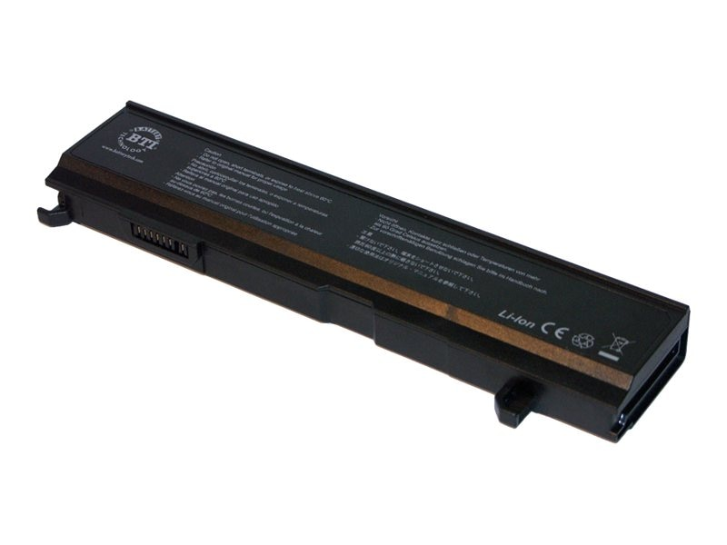 BTI Battery, Lithium-Ion, 14.8V, 4400mAh, for Satellite A80, A85, Replaces PA3465U-1BRS, TS-A80/85M, 7666729, Batteries - Notebook