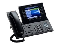 Cisco Unified IP Phone 8961, Thick Handset, Charcoal, CP-8961-C-K9=, 10931896, Telephones - Business Class