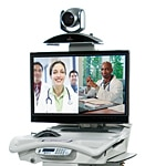 Polycom RealPresence Practitioner Cart 8000, 2230-64973-001, 17033829, Computer Carts - Medical