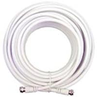 Wilson RG-6 F-Male   F-Male Coaxial Cable, White, 20ft, 950620, 17099772, Cables