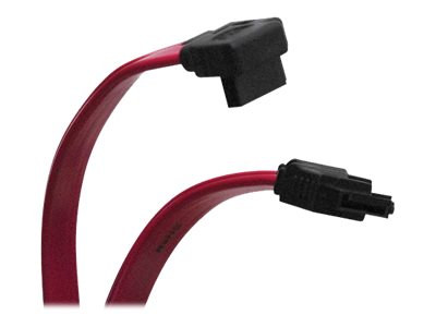 Tripp Lite SATA Right Angle Signal Cable, 1ft, P941-12I