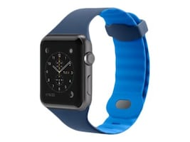 Belkin Sport Band for Apple Watch, 38mm, Blue, F8W729BTC02, 33418681, Wearable Technology