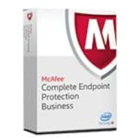 McAfee Corp. Complete EndPoint Protection for Business Perpetual Lic w 1-Year Gold Support (251-500 Users), CEBCDE-AA-EA, 16240746, Software - Antivirus & Endpoint Security