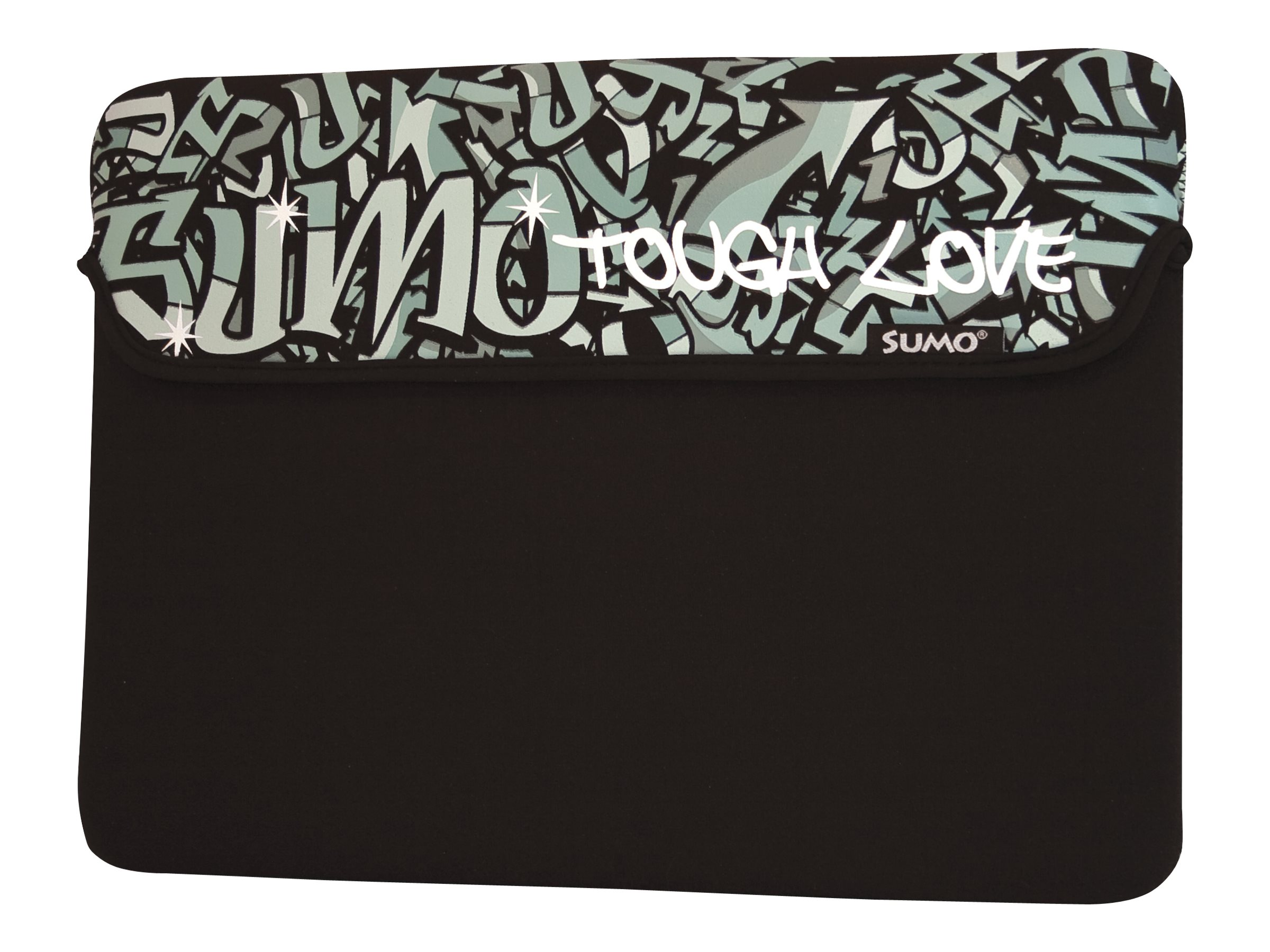 Mobile Edge Sumo Graffiti iPad Sleeve, Black, SUMO-IPADSG1, 11634607, Protective & Dust Covers