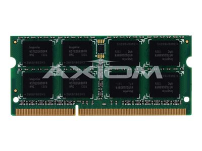 Axiom 2GB PC3-8500 DDR3 SDRAM SODIMM for Select Models, PA3676U-1M2G-AX