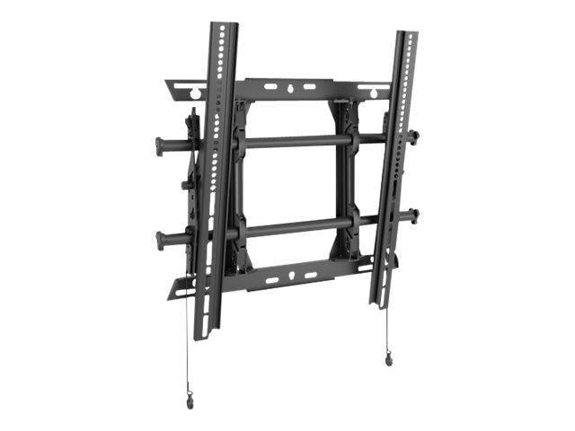 Chief Manufacturing Medium Fusion Portrait Tilt Wall Mount, Black