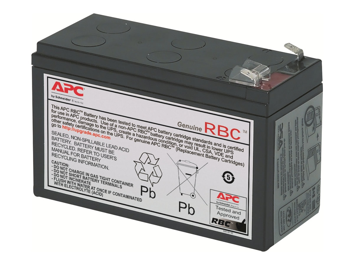 APC Replacement Battery Cartridge #2 for select BK and BP 250-500VA Models, RBC2