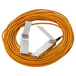 HPE 40G QSFP+ to QSFP+ Active Optical Cable, 10m