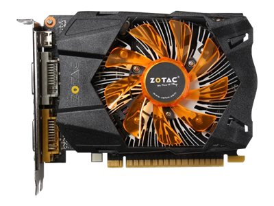 Zotac GeForce GTX 750 PCIe 3.0 Graphics Card, 2GB GDDR5, ZT-70704-10M