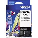 Brother Black LC209BK Ultra High Yield Ink Cartridge