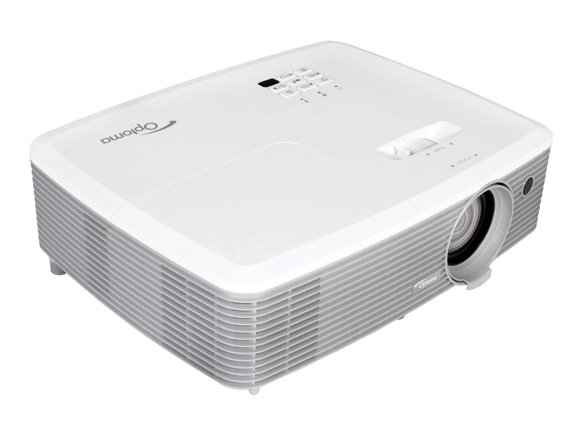 Optoma EH345 Full 1080p 3D DLP Projector, 3200 Lumens, White, EH345