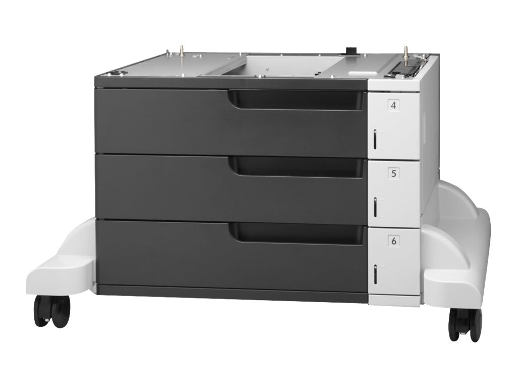 HP LaserJet 3X500-Sheet Feeder & Stand