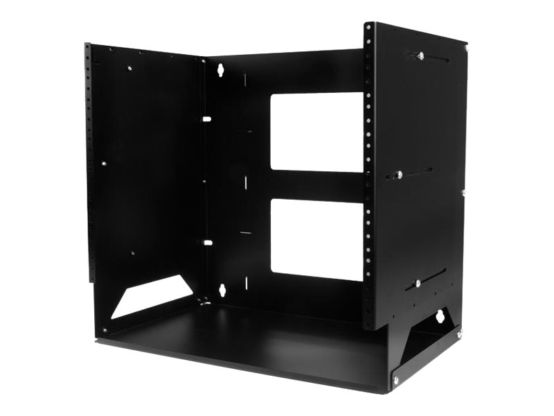 StarTech.com 8U Wall-Mount Solid Steel Server Rack w Built-in Shelf