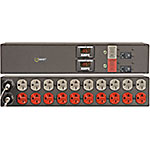 Coolmax Basic Non-Surge PDU 3.3kW 208V 20A 2U RM (2) 6-20P Input 10ft Cords (20) 6-20R Outlets (2) 20A CB, 15863, 17685190, Power Distribution Units