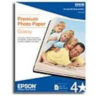Epson 11 x 17  Premium Glossy Photo Paper (20 Sheets), S041290, 177241, Paper, Labels & Other Print Media