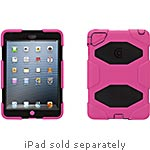 Griffin Survivor Military Duty Case for iPad mini, Pink Black