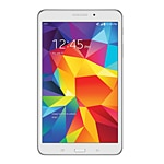 Refurb. Samsung Galaxy Tab 4 QC 1.2GHz 1.5GB 16GB abgn BT ATT 2xWC 8 WXGA MT Android 4.4.2 White, SM-T337AZWAATT-R, 30985904, Tablets