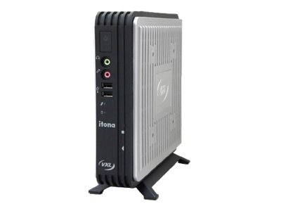 Vxl Itona Md29-F10R8 Thin Client VIA Eden U4200 1.0GHz 4GB RAM 16GB Flash GbE WES8, MD29-F10R8, 16893501, Thin Client Hardware
