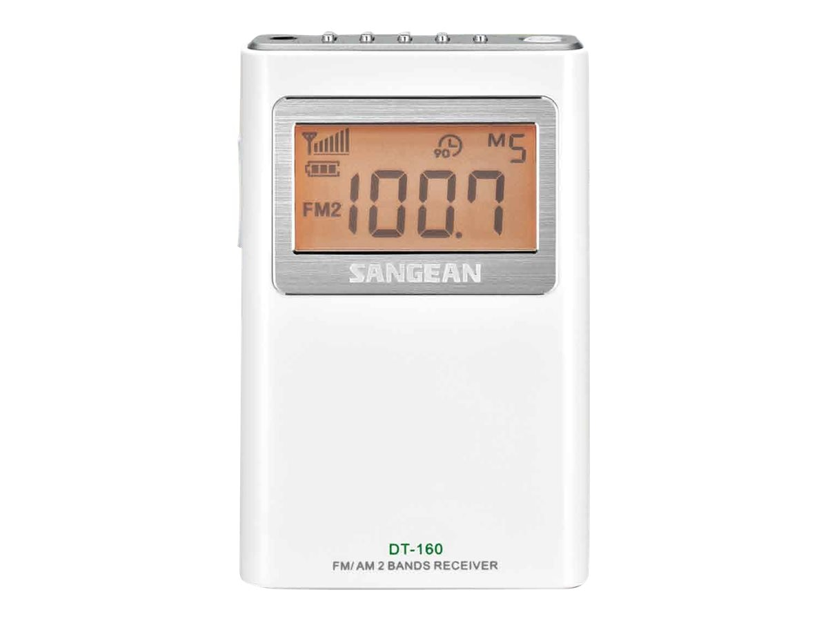 Sangean AM FM Pocket Radio, DT-160