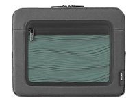 Belkin Vue Sleeve for iPad, Flint Gray Sea Foam, F8N275TT129, 11528126, Protective & Dust Covers