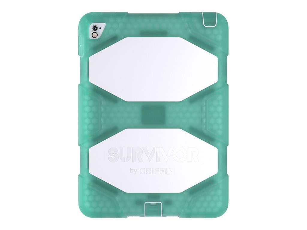 Griffin Survivor Slim for Apple iPad Air 2 & iPad Pro 9.7, Green White, GB41872