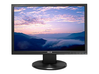 Asus 19 VW199T-P Widescreen LED-LCD Monitor with Speakers, Black
