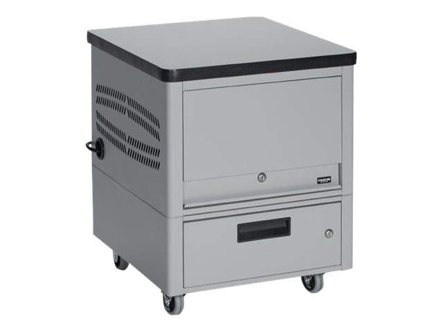 Black Box Tablet Depot Cart, 16-Unit
