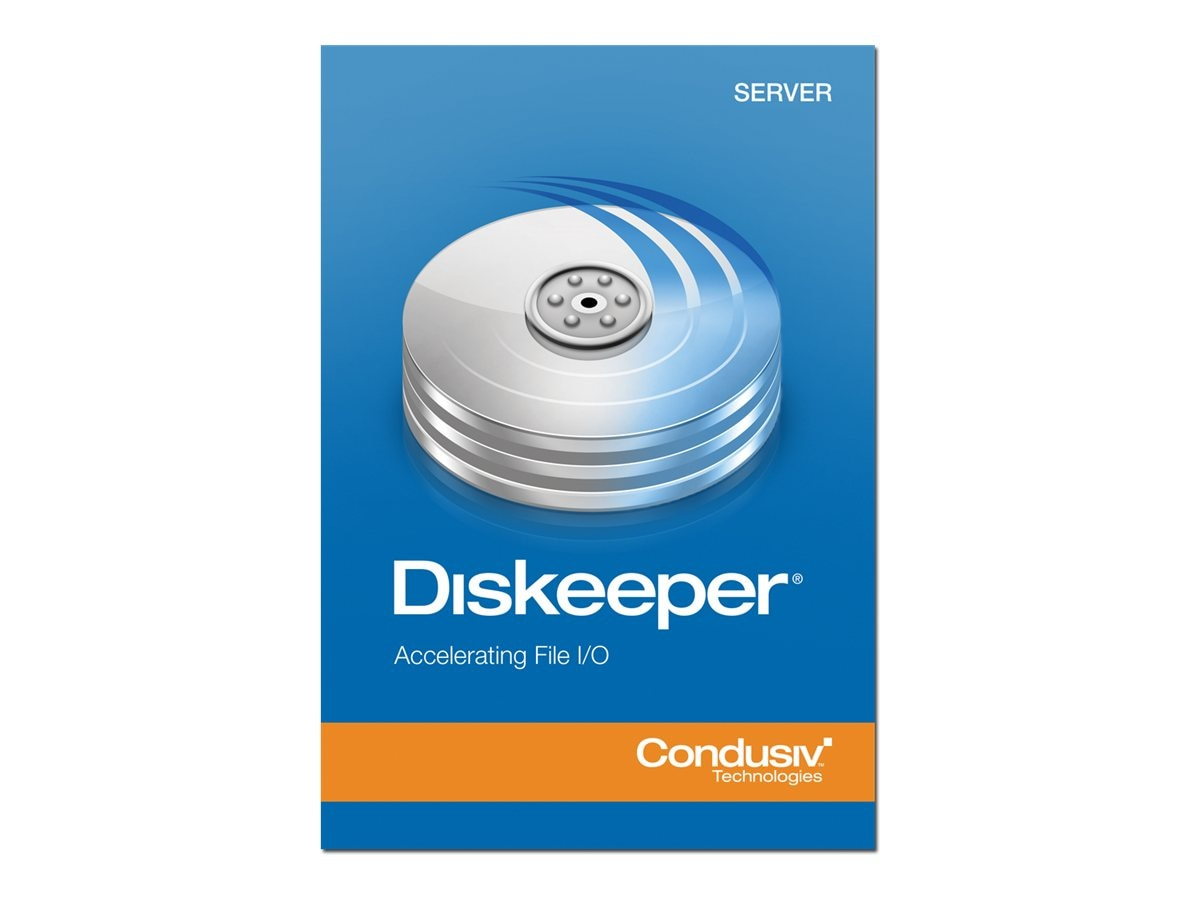 Condusiv Corp. VLA Diskeeper 12.0 Server 2-year Maintenance 25-49 Licenses, 191643, 16276984, Software - Network Management