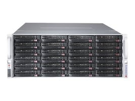 Supermicro Chassis, SuperChassis 847BE1C-R1K28LPB 4U RM (2x)Intel AMD Family 36x3.5 HS Bays 7xSlots 2x1280W, CSE-847BE1C-R1K28LPB, 31026094, Cases - Systems/Servers