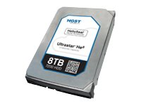 HGST 8TB UltraStar He8 SATA Ultra 4KN ISE 3.5 Internal Hard Drive, 0F23662, 18401259, Hard Drives - Internal