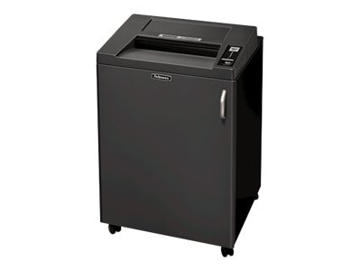 Fellowes Fortishred 3850S Strip-Cut Shredder, 44 Gallon Bin, 24-26 Sheet Capacity, Black