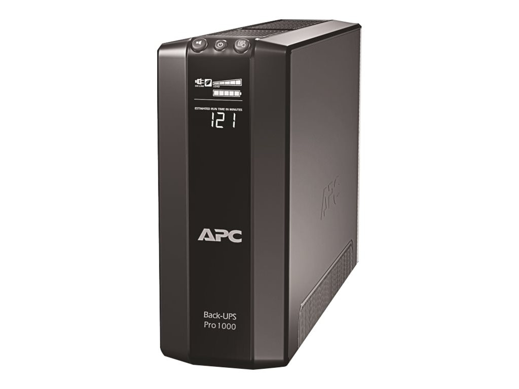 APC Back-UPS Pro 1000VA 600W 120V UPS (8) Outlets, Energy Saving, BR1000G, 11264028, Battery Backup/UPS