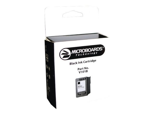 Microboards Black Ink Cartridge for the Print Factory 3 & CX-1 Disc Printers, V101B, 7994458, Ink Cartridges & Ink Refill Kits