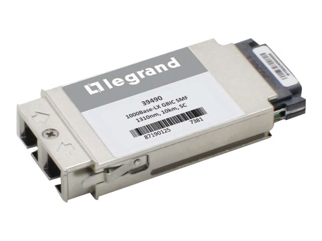 C2G Cisco WS-G5486 Compatible 1000Base-LX SMF GBIC Transceiver, 39490, 30650776, Network Transceivers