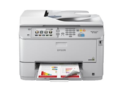 Epson WorkForce Pro WF-5690 Network Multifunction Color Printer w  PCL Adobe PS, C11CD14201