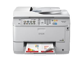 Epson WorkForce Pro WF-5690 Network Multifunction Color Printer w  PCL Adobe PS, C11CD14201, 17516265, MultiFunction - Ink-Jet