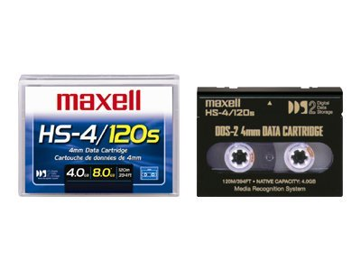 Maxell 4mm 120m Tape Cartridge, 200110, 30732798, Tape Drive Cartridges & Accessories