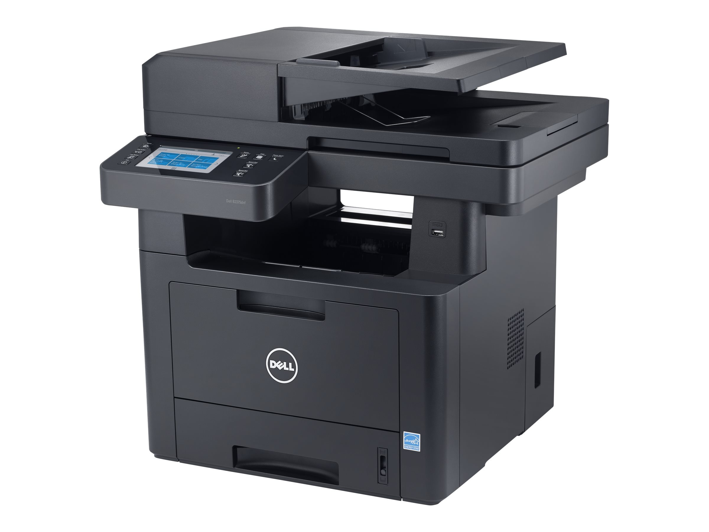 Dell B2375dnf Mono Multifunction Printer, 0X02P, 16389372, MultiFunction - Laser (monochrome)