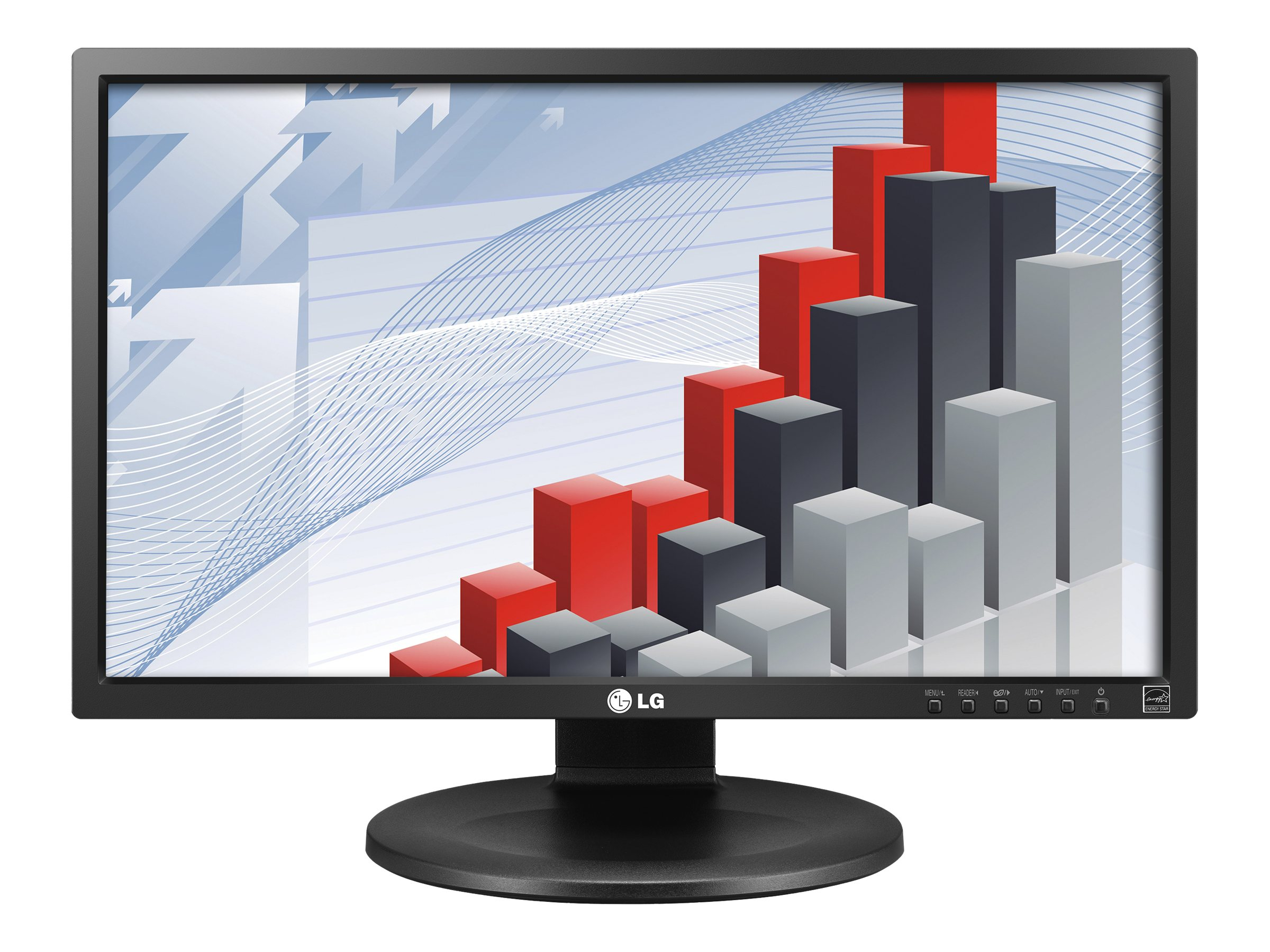 LG 24 MB35P-B Full HD LED-LCD Monitor, Black