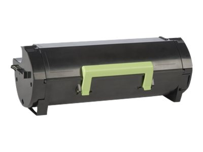 Lexmark 500XA Black Extra High Yield Toner Cartridge, 50F0XA0