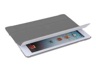 V7 Slim Folio Case for iPad Air, Gray, TA55-10-GRY-14N, 16895873, Carrying Cases - Tablets & eReaders