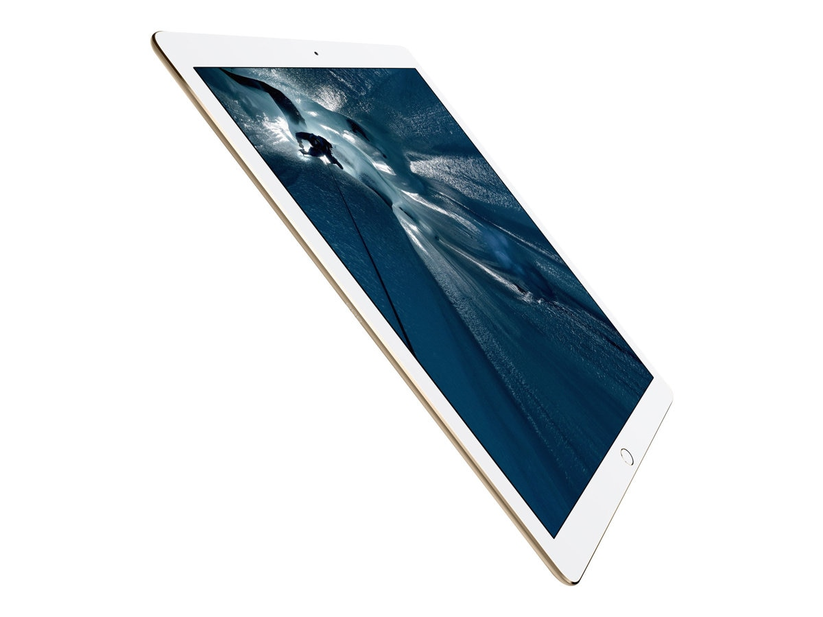 Apple iPad Pro, 128GB, Wi-Fi+Cellular, Gold (Apple SIM), ML3Q2LL/A, 30768871, Tablets - iPad Pro