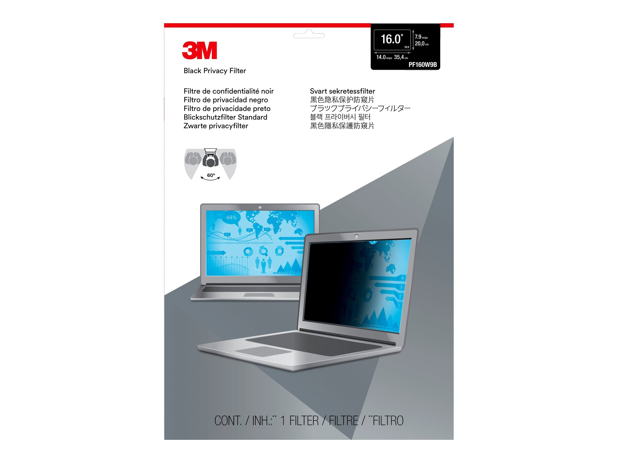 3M Anti-Glare Filter for Rugged Tablet 7202
