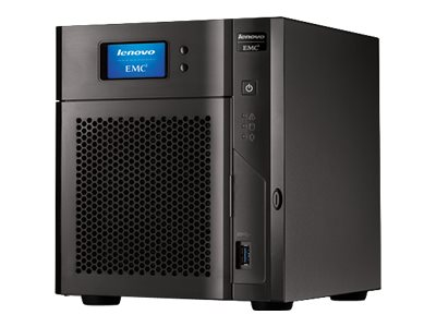 Open Box Lenovo Storage 16TB px4-400d Network Storage, 70CM9003NA, 30954041, Network Attached Storage