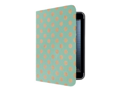 Belkin FormFit Coverlet for iPad mini mini with Retina display, Mint Dots, F7N105B1C02, 17518156, Carrying Cases - Tablets & eReaders
