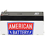 American Battery Replacement Battery Cartridge for APC BE350 models, RBC35, 18029135, Batteries - Other